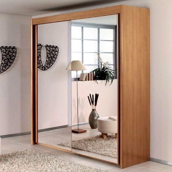 Simple Ela door mirrored wardrobe Wardrobes Bedroom Furniture