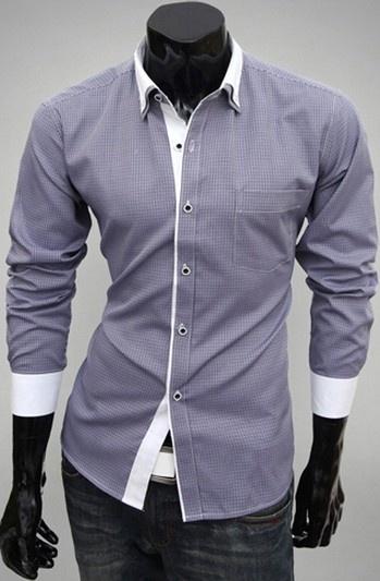 Duo Check Dress Shirt