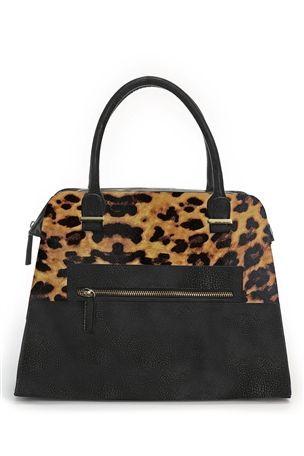 Formal Zip Shoulder Bag