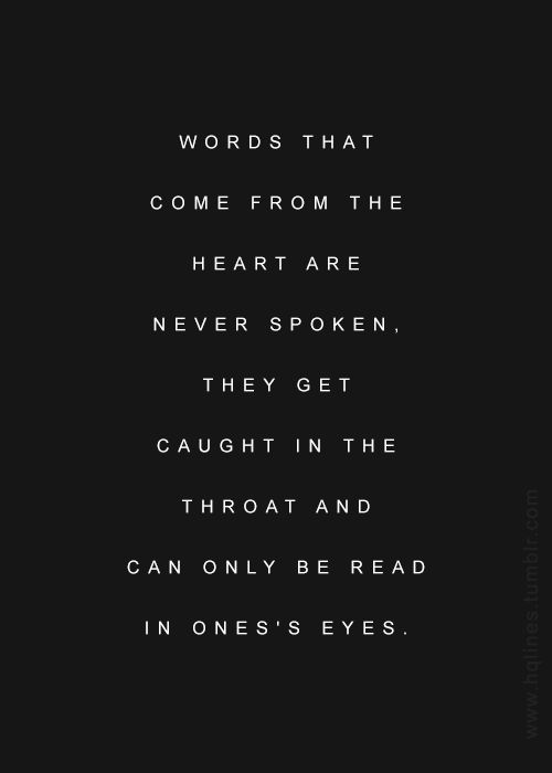 #words from the #heart ~ #quote