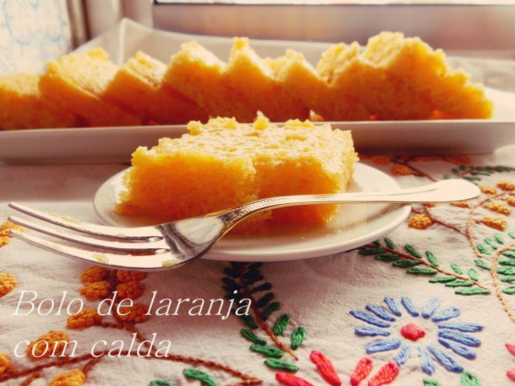 A Cozinha da Ovelha Negra: Bolo de Laranja com calda / Orange cake with syrup...