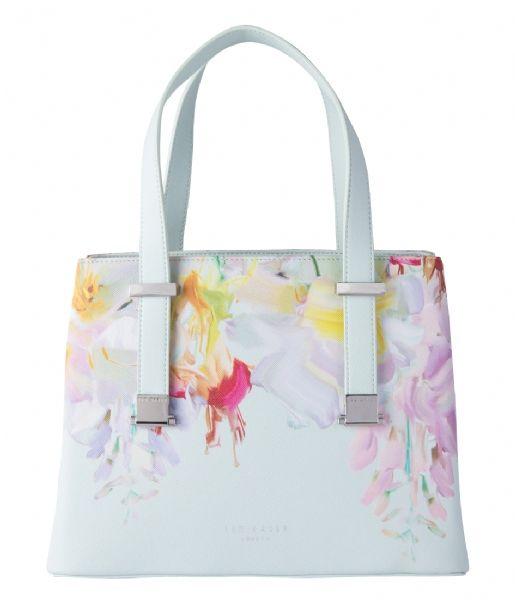 De Hanica Bag is een fashionable tas van Ted Baker. De kleurrijke tas is uitgevoerd in leer en heeft zomerse bloemenprint. #Hanica #Handtassen #TedBaker