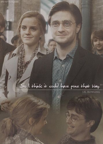 harry hermione essay Ronald bilius ron weasley is a fictional character in j k rowling's harry potter series his first appearance was in the first book of the series, harry potter and the philosopher's stone as the best friend of harry potter and hermione granger.