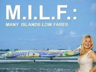 Spirt Airlines Advert