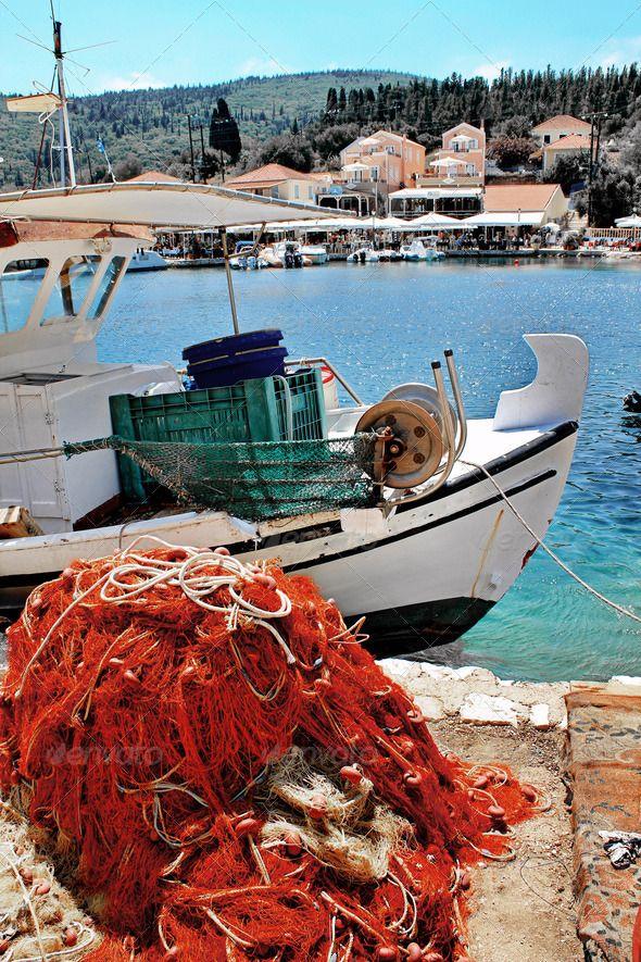 Fiskardo in Kefalonia Island Greece