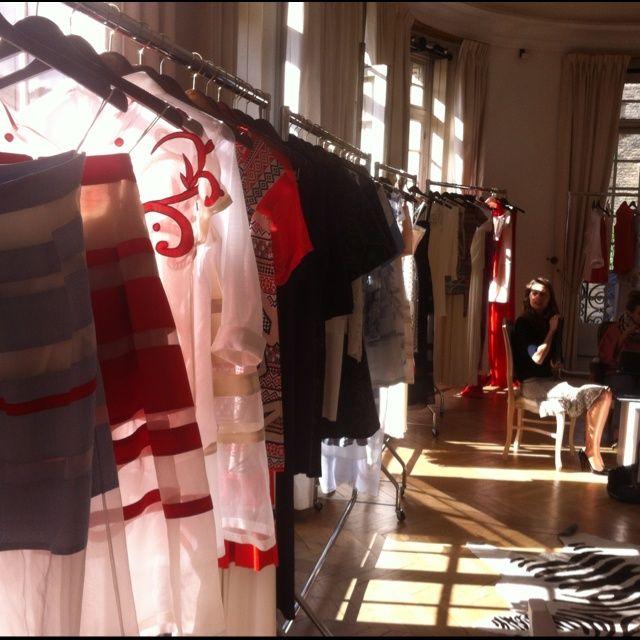 Paris Showroom for SS13