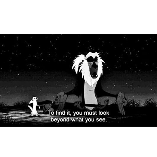 Lion King Love Quotes: Lion King Quotes And Sayings. Rafiki.