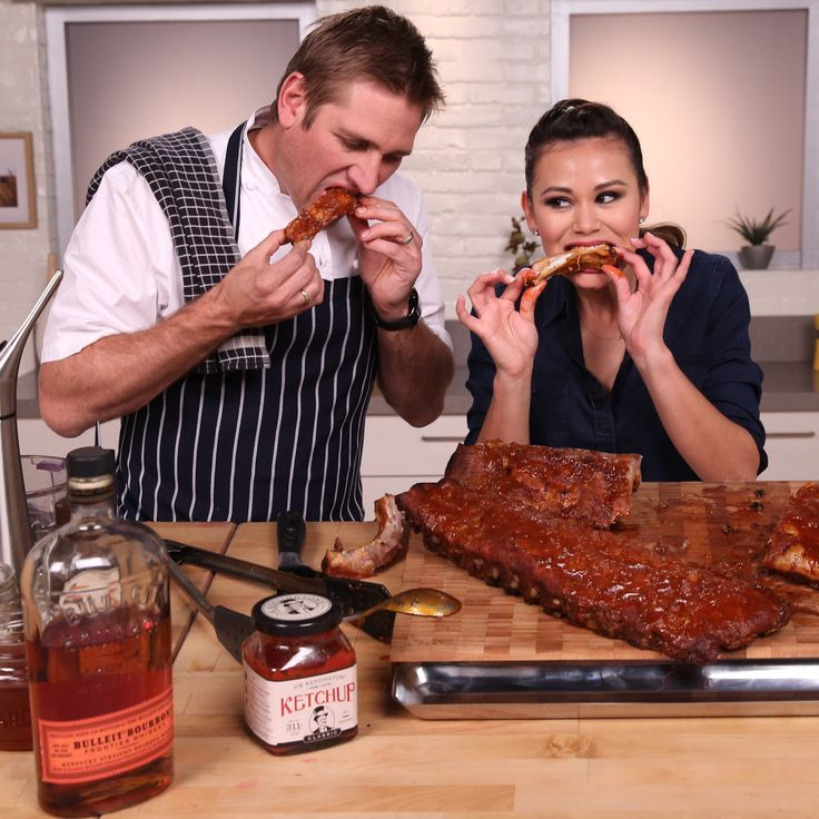 Curtis Stone's Sticky, Saucy Ribs Practically Scream Summer BBQ