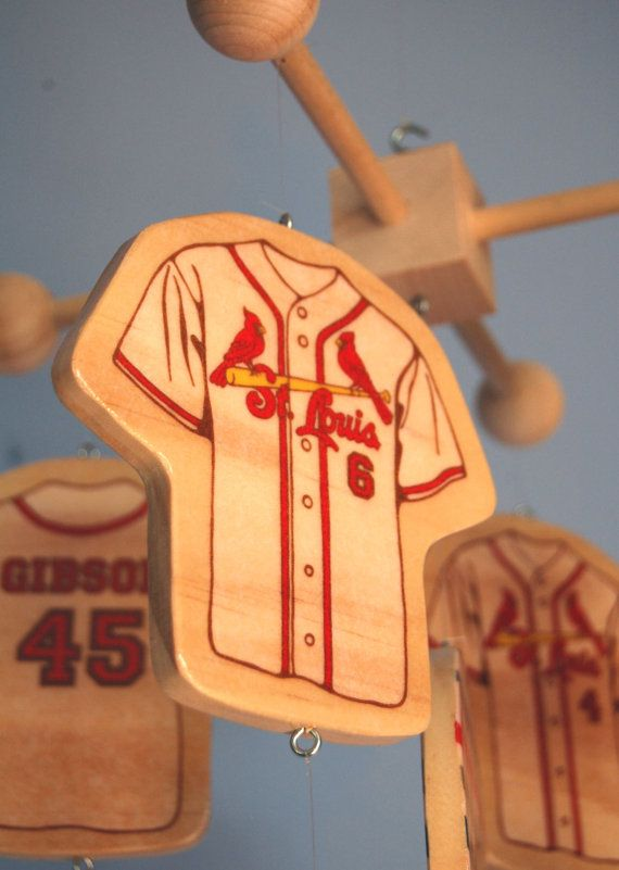 Baby Mobile  for a baseball themed nursery by FlyingTrees