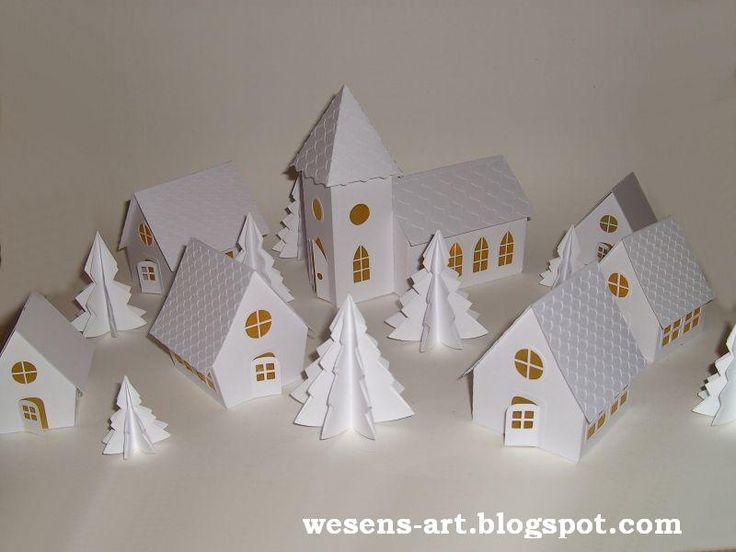. . . Wesens-Art: Papier-Kirche / Paper Church