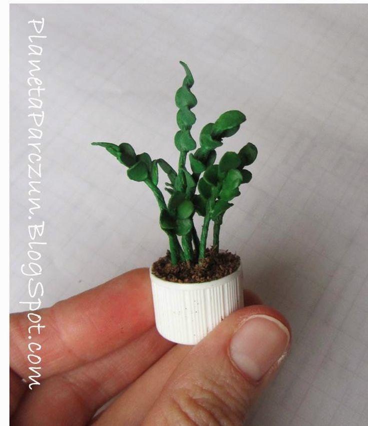 1000 images about flores y plantas miniaturas en for Macetas miniatura