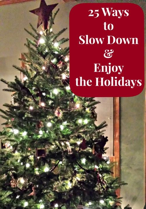 Great ideas for fun ways to spend time together this season -- push aside the chaos for some time to connect.