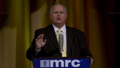 """Legendary radio talk show host Rush Limbaugh recalled how he first heard of the Media Research Center when he saw Brent Bozell quoted in National Review. Limbaugh also explained his success in radio, noting how both he and Donald Trump built a """"bond"""" with their audiences, before warning of the threat posed by leftists who want to silence conservatives."""