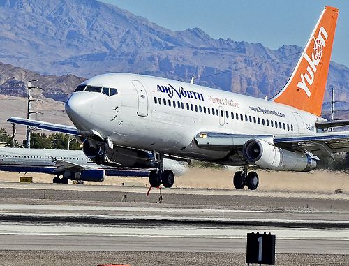 C-GANV  Air North Yukon's Airline 1984 Boeing 737-2X6C/Adv  (cn 23122/1036)