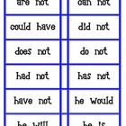 1000+ images about Contractions on Pinterest | Christmas crackers, Cut ...