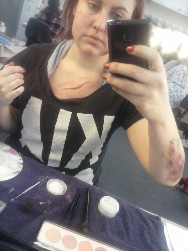 #wounds. #Cut #GrassBurn/Graze MakeUp by TiaRose