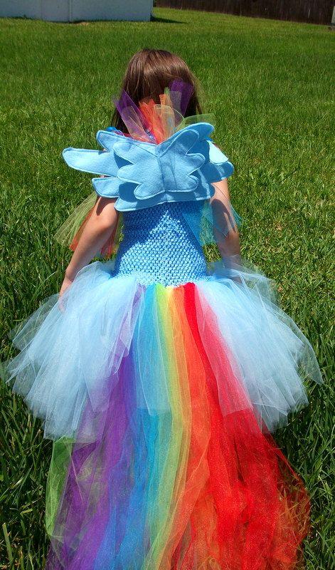 Rainbow Dash inspired by My Little Pony by GlitterprincessGalor
