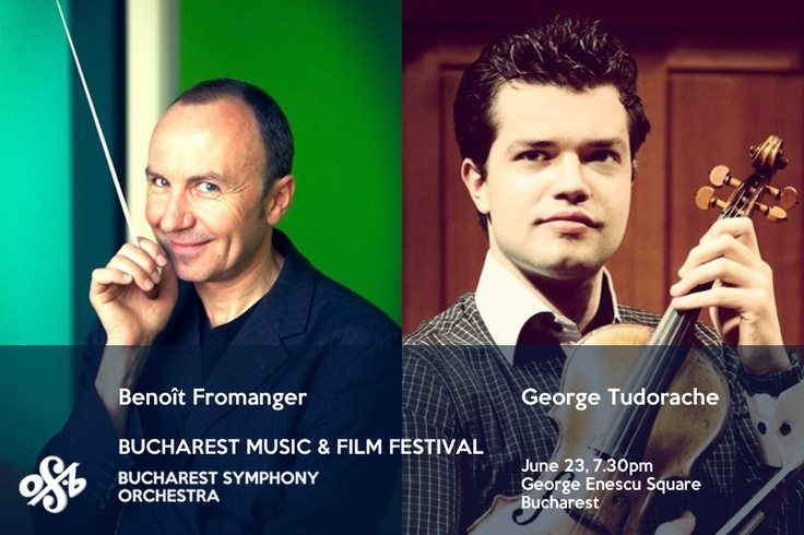The classical music lovers in Bucharest are again invited on June 23 to attend the concert, part of the Bucharest Music and Film Festival which will take place in the George Enescu Square, starting with 7.30pm. T
