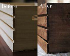 как сделать новые деревянные выглядят старыми, советы по уборке, роспись мебели