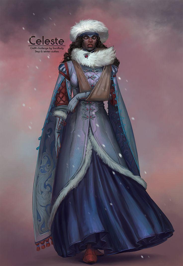 ArtStation - Outfit challenge, Alexandra Semushina