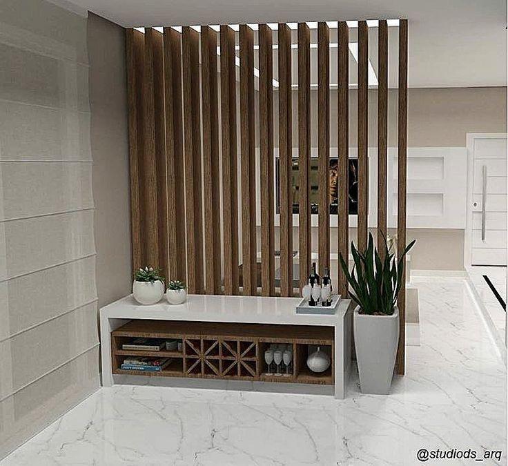 Resultado de imagem para divisoria em madeira barrotes horizontal