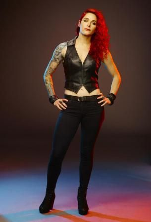 Megan Jean Morris seriously bad ass tattooer Photograph by Jill Greenberg (Spike)