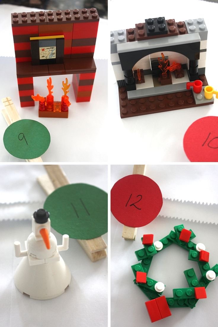 LEGO Advent Building Ideas