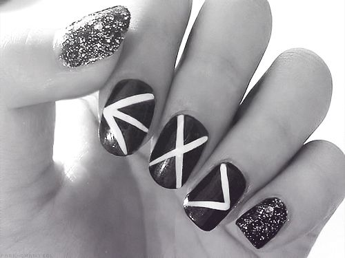 awesome nail art! so much want! >3< #exo