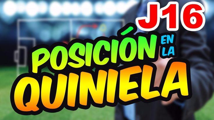 Posición en la Quiniela Jornada 16 Liga MX AP-17⚽  Quiniela MX