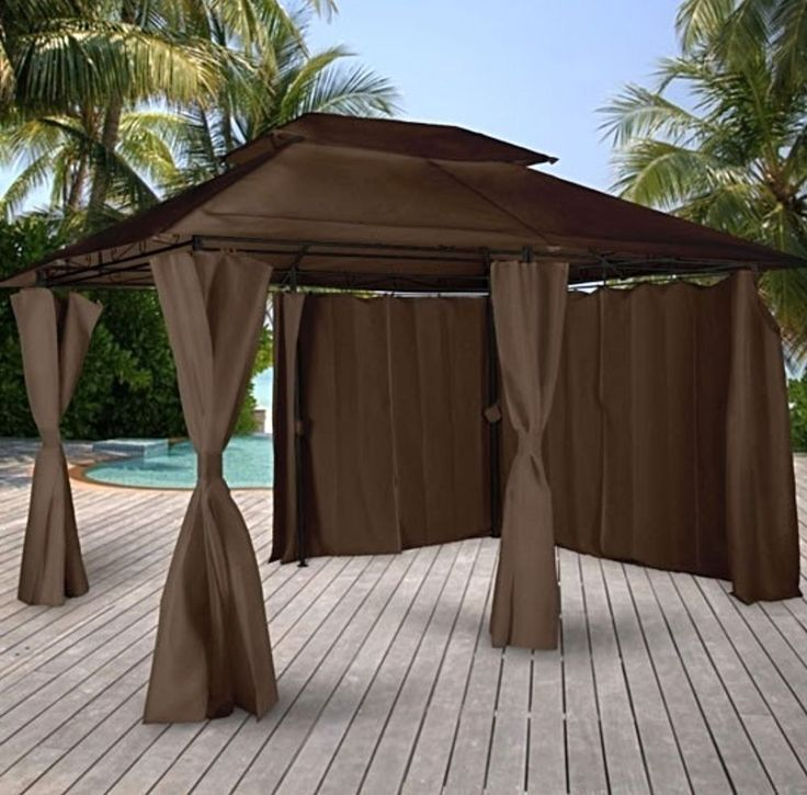 Waterproof Gazebo Marquee Garden Outdoor Canopy Pergola Patio Party Wedding