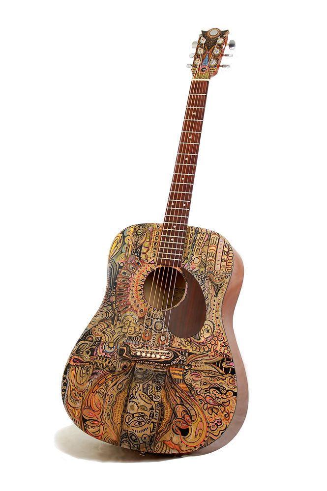 Acoustic Guitar - art