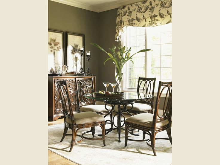 Shop For The Tommy Bahama Home Landara Dining Room Group At Hudson S Furniture Your Tampa