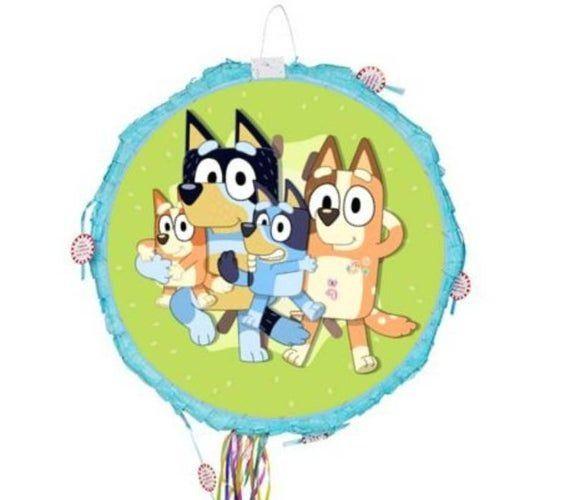 Bluey Pinata Bluey And Bingo Party Supplies Bluey Abc Kids Pinata Bluey Party Games 1000 Bingo Party Abc For Kids Birthday Stickers