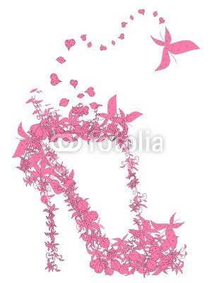 Please check my #stock #vector via @fotolia - #flower #shoes #shopping !