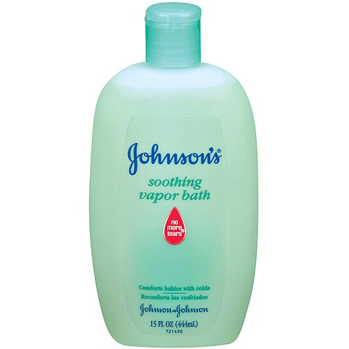 Johnson's - Soothing Vapor Bath for sick baby    I need to find this!!!