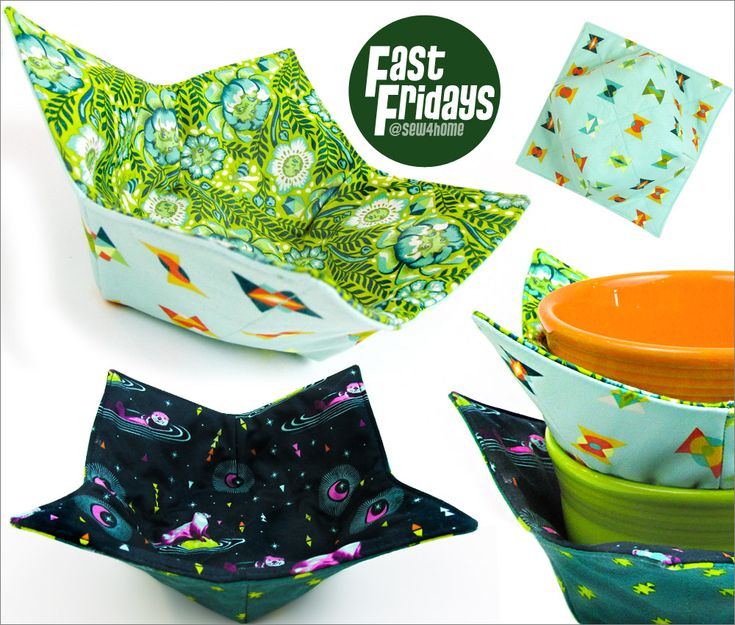 Fast Fridays: Soup Bowl Cozy | Sew4Home