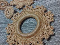 Pendientes Flamencos Crochet