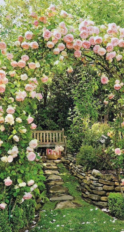 94+ Lovely Modern English Country Garden Design Ideas