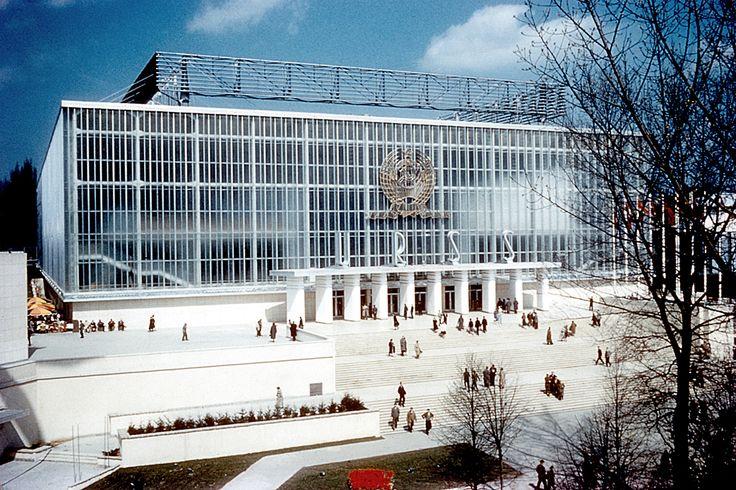 URSS pavilion