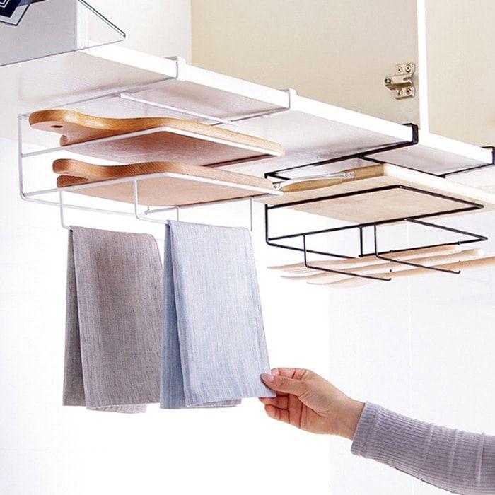 Hanging Shelf Cabinet Storage Rack for Kitchenware