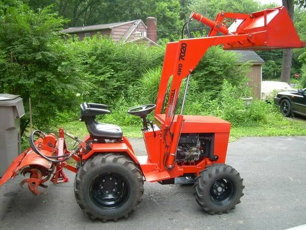 Small Garden Tractors : Best images about garden lawn tractors on pinterest