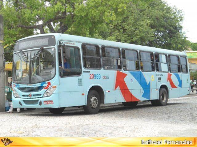 MOB Ceará: Santa Maria desativa ônibus e micro ônibus