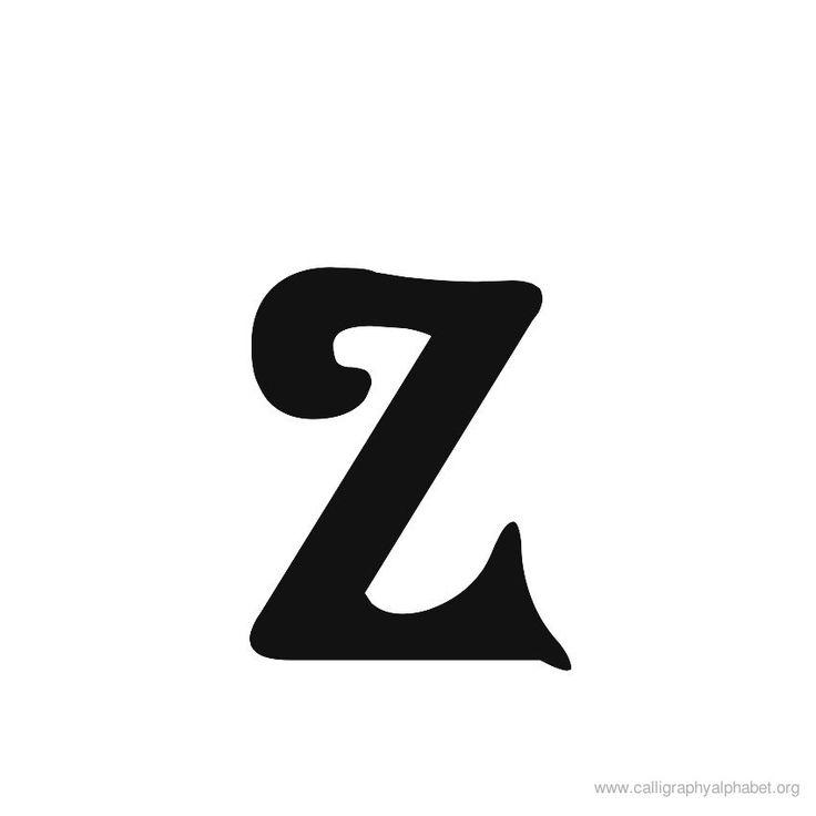 Letra - z