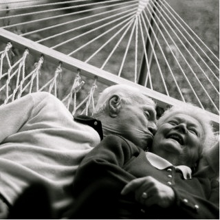 This is what love is all about. Not how good someone looks but how great it is to look old and in love with each other.