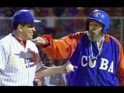 Documentário sobre o jogo de beisebol com Fidel Castro e Hugo Chávez