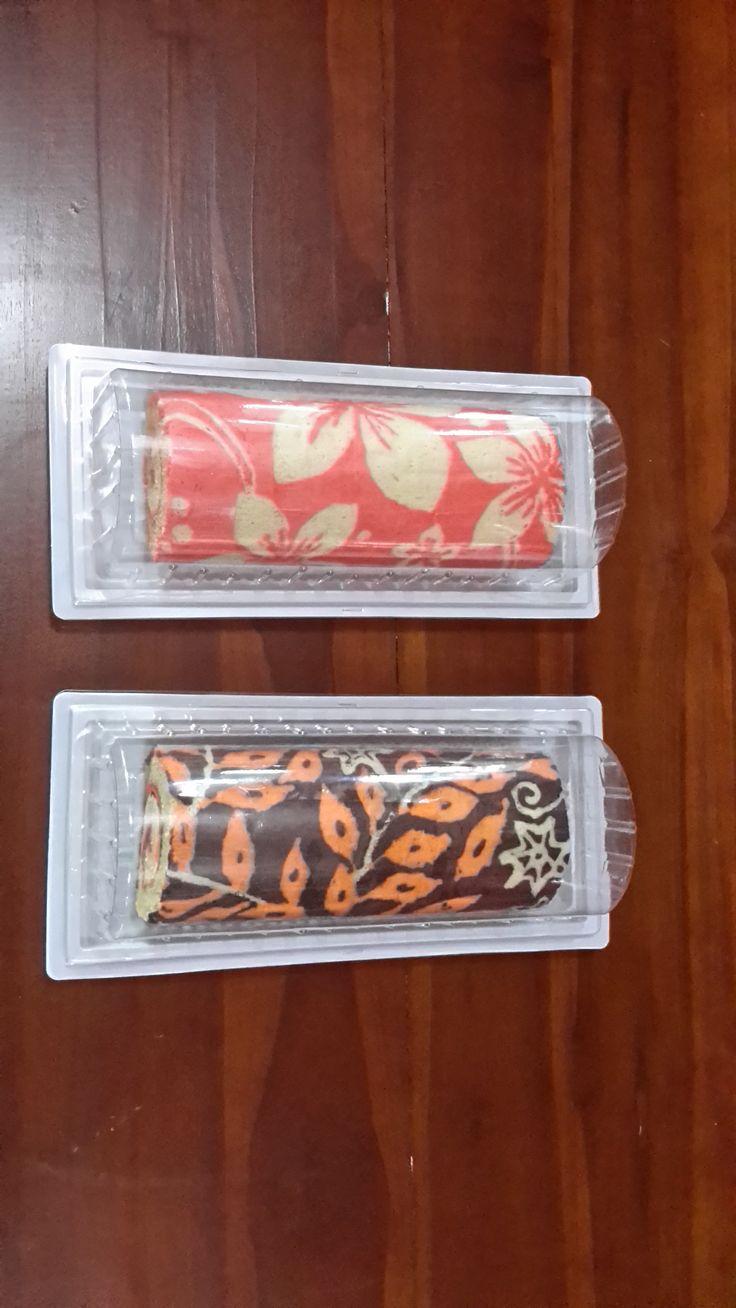 Batik Roll Cakes