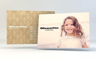 Communiekaartjes maken | www.PrintConcept.be