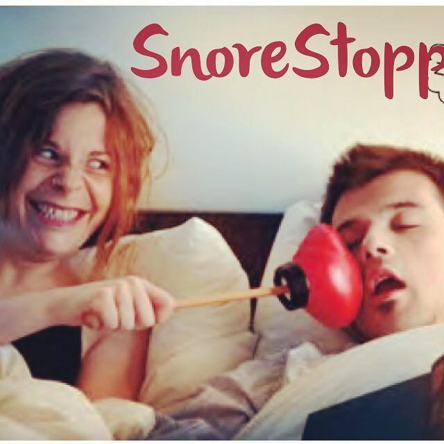 Snore stopper!! @donkeyproducts