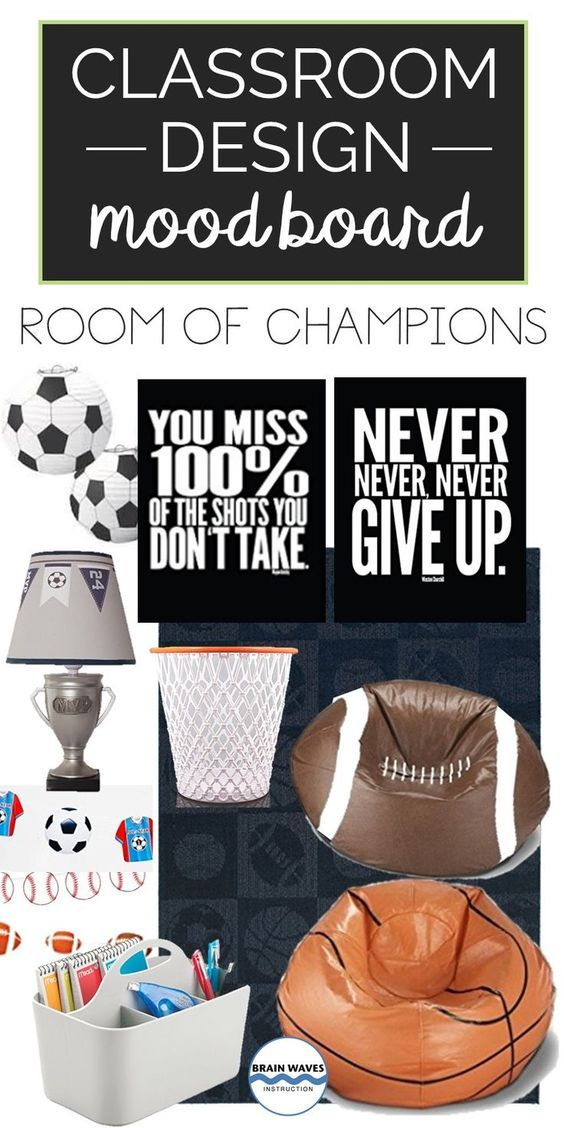 Planning to decorate your classroom with a sports theme?  Then, you might want to check out these sports classroom decoration ideas!