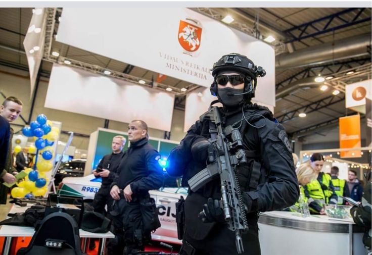 ARAS Lithuanian  Anti terrorist operations Unit